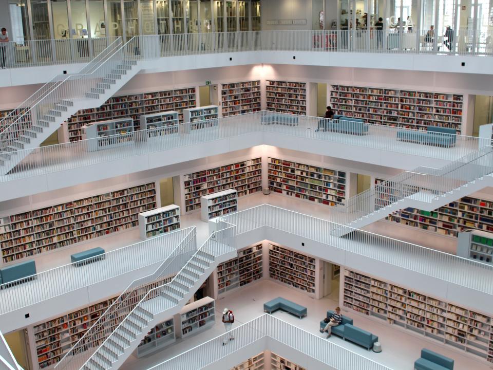 Renove sua biblioteca