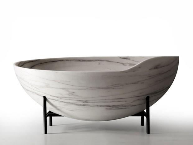 Versáteis, móveis feitos com mármore trazem requinte tanto para ambientes clássicos quanto para espaços contemporâneos e modernos
