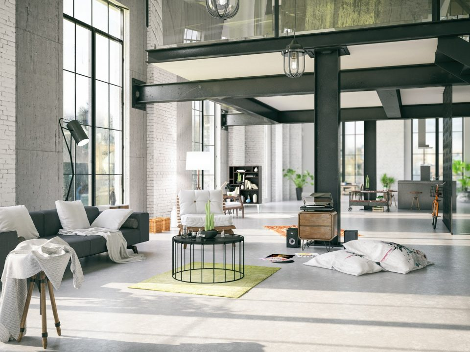 Os lofts são decorados com maestria em projetos arrojados, que unem materiais clássicos, luxuosos e contemporâneos em ambientações dignas de capas de revista.